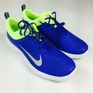 Nike Women Akamai Spikeless Golf Shoes Blue Sz 9.5